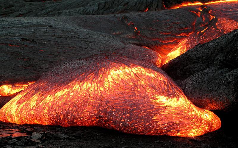 volcano slow lawava