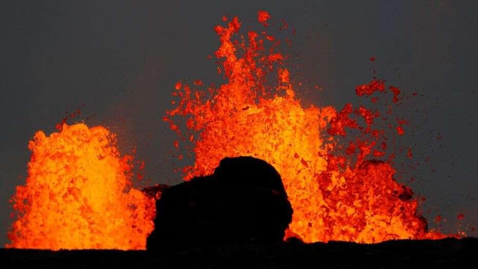 volcano toss
